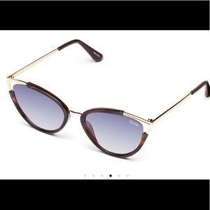 Quay Australia Hearday tortuse cat eye sunglasses